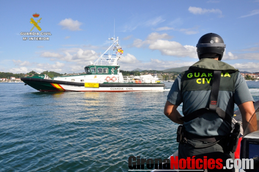Guardia Civil en Biarritz