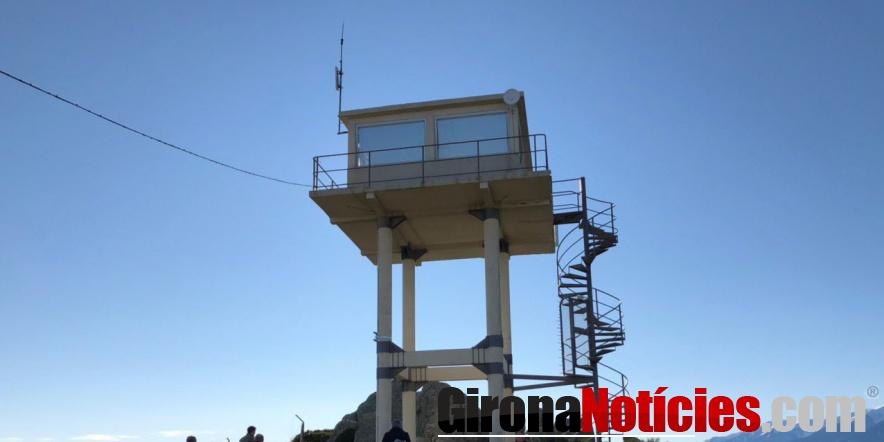 Antena a la Catalunya Nord que s'ha inaugurat aquest dijous al matí