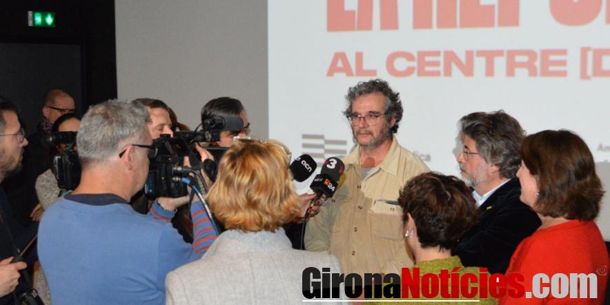 Presentació aquest migdia al Cinema Castellet de la capital nord-catalana