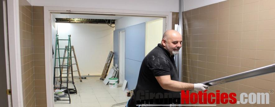 alt - Aquesta setmana ha començat la tercera fase de les obres d'ampliació de les Urgències de l'Hospital Trueta