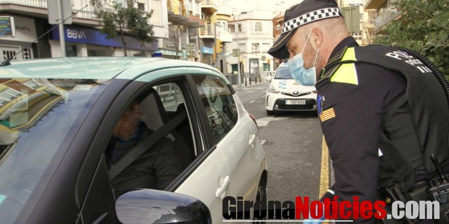 Controls Policia Local Blanes