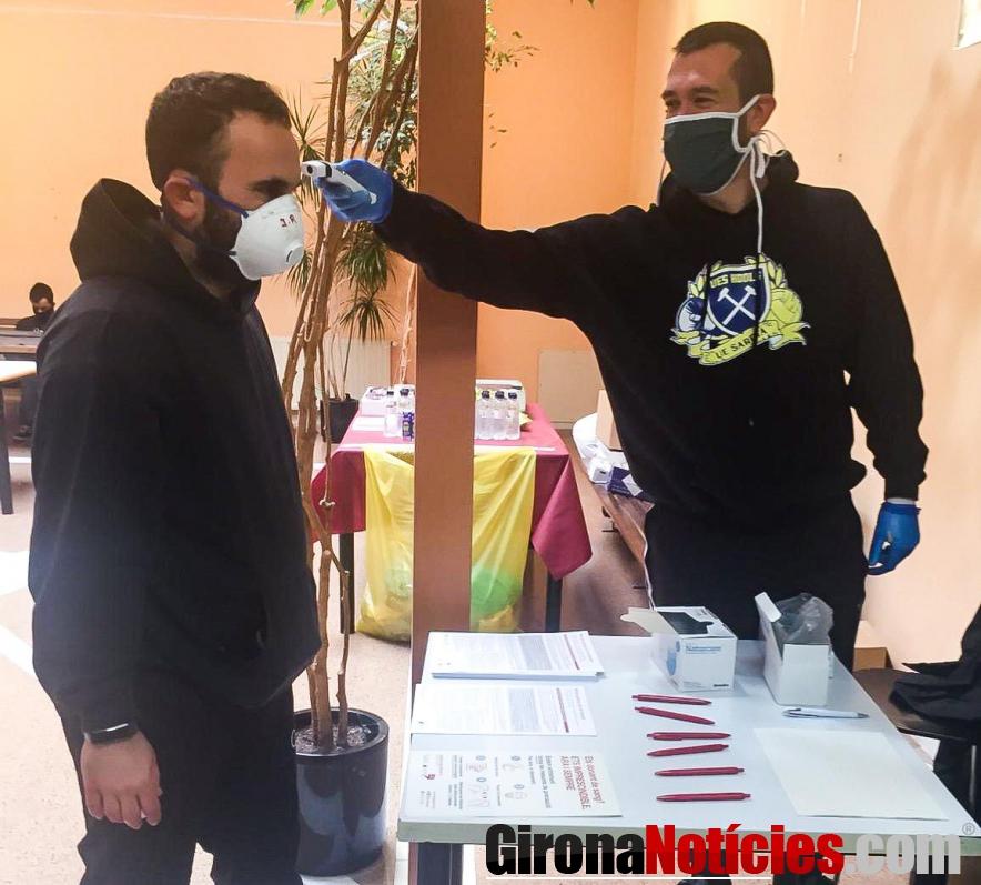 Voluntari a la donació de sang