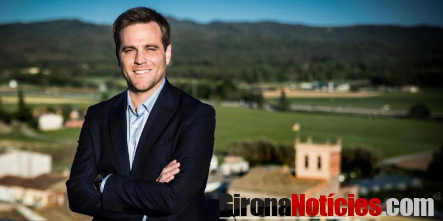 alt - L'alcalde de Vidreres, Jordi Camps