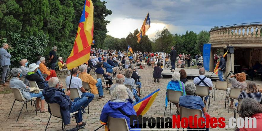 Elna festeja la Diada de Catalunya