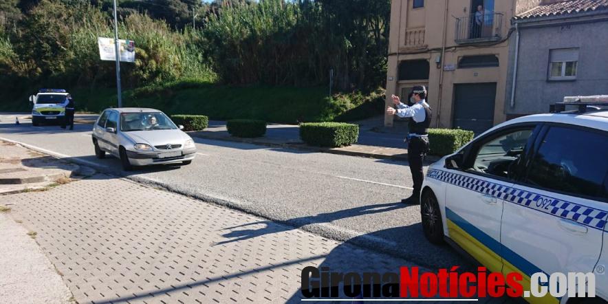 alt - Control de policia a Girona