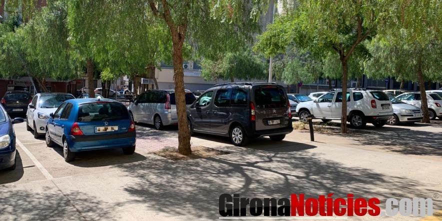 Estacionaments plaça Tarradellas