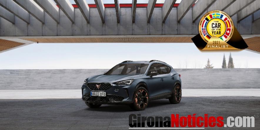 El CUPRA Formentor, premio 'Car of the Year 2021'