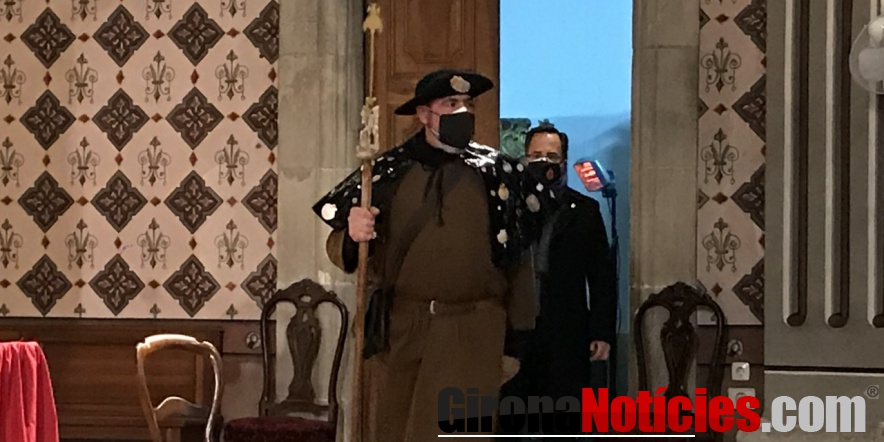 alt - Jaume Gotarra, de 54 anys, és el Pare Pelegrí del 2021