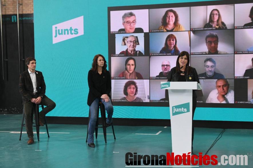 Acte de JuntsxCat / GN