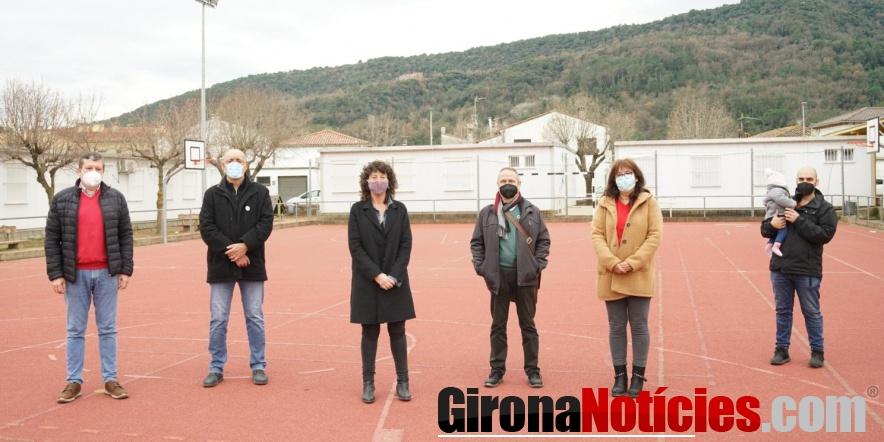 Teresa Jordà i Bartomeu Compte visiten Besalú