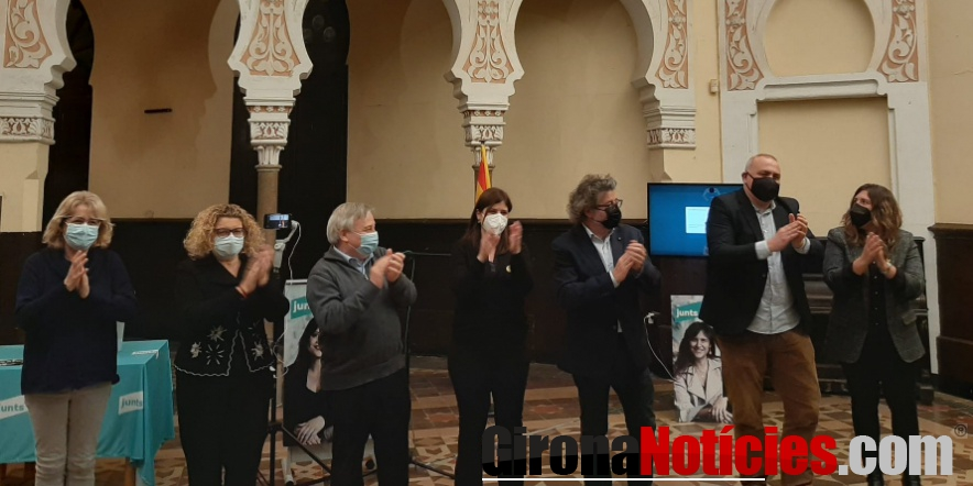 Acte de Junts a Sant Feliu de Guíxols