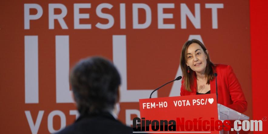 Acte del PSC a Girona