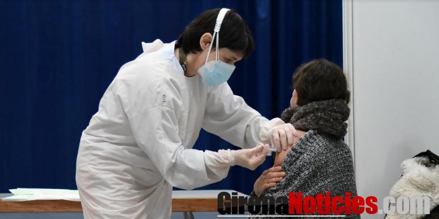 Vacunació al Palau Firal de Sant Antoni