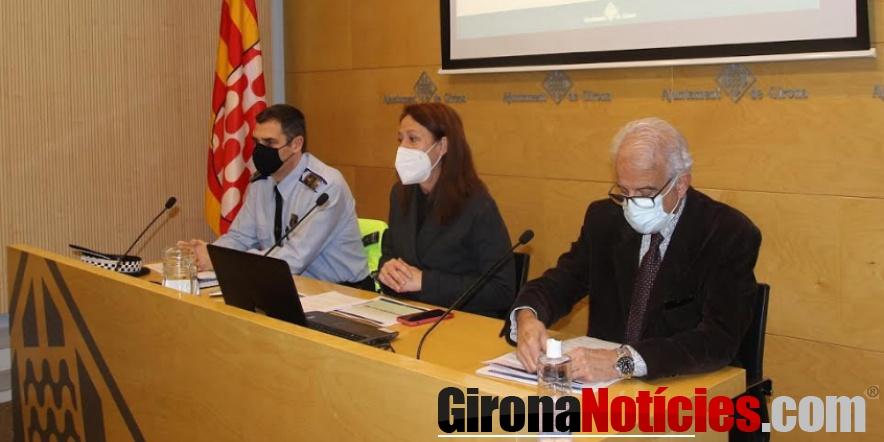 Roda de premsa Policia Municipal de Girona