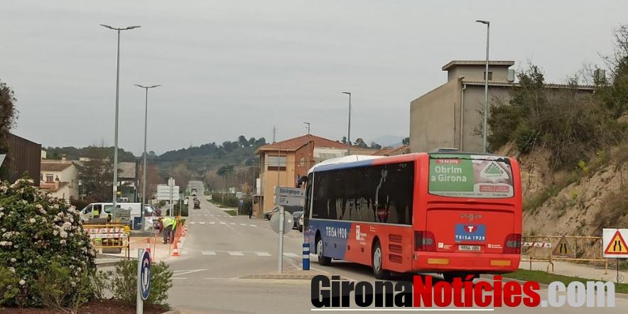 Trasllat de la parada d'autobús a Besalú / GN