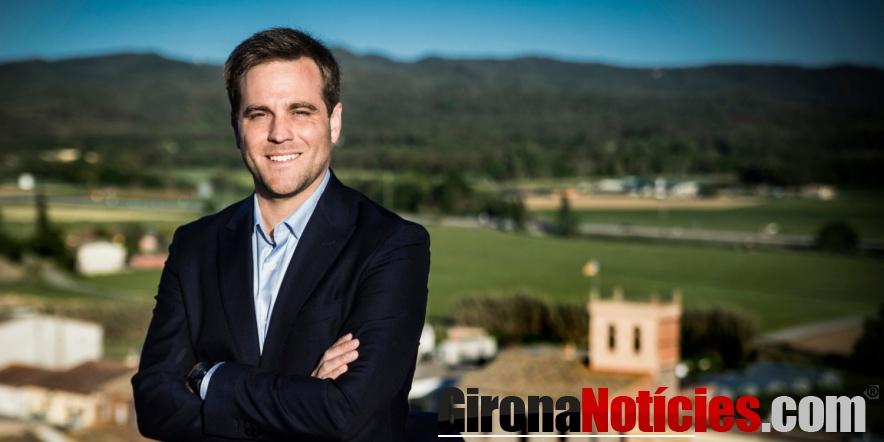Jordi Camps, alcalde de Vidreres