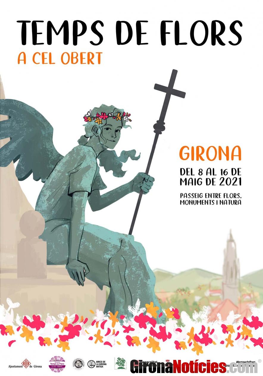 Cartell Temps de Flors 2021