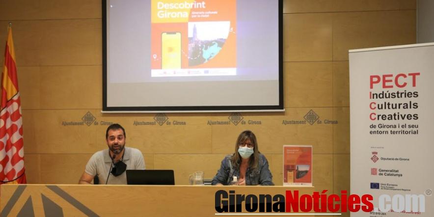 alt - Rosa de premsa descobrint Girona