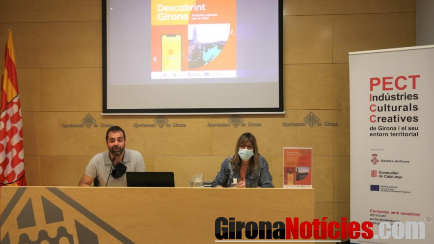 Rosa de premsa descobrint Girona