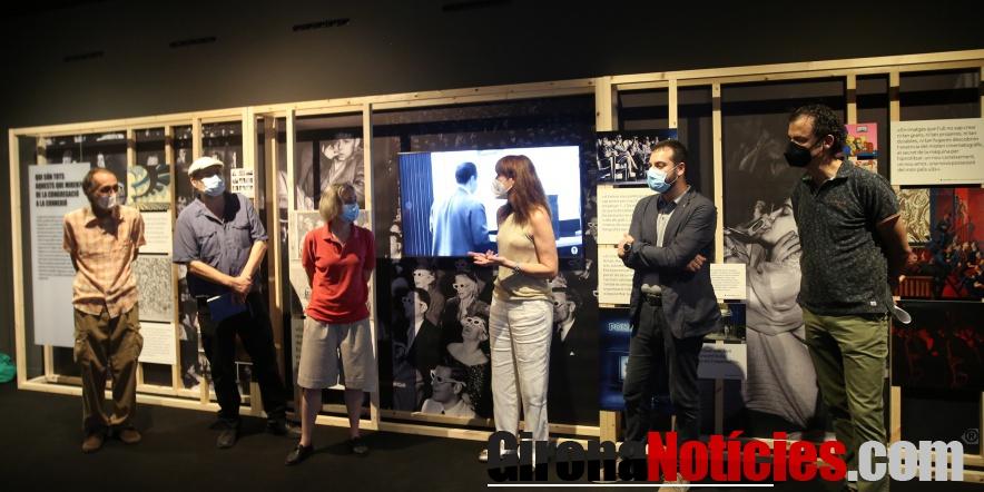Inauguració epxosició cinema L'espectador com a espectacle