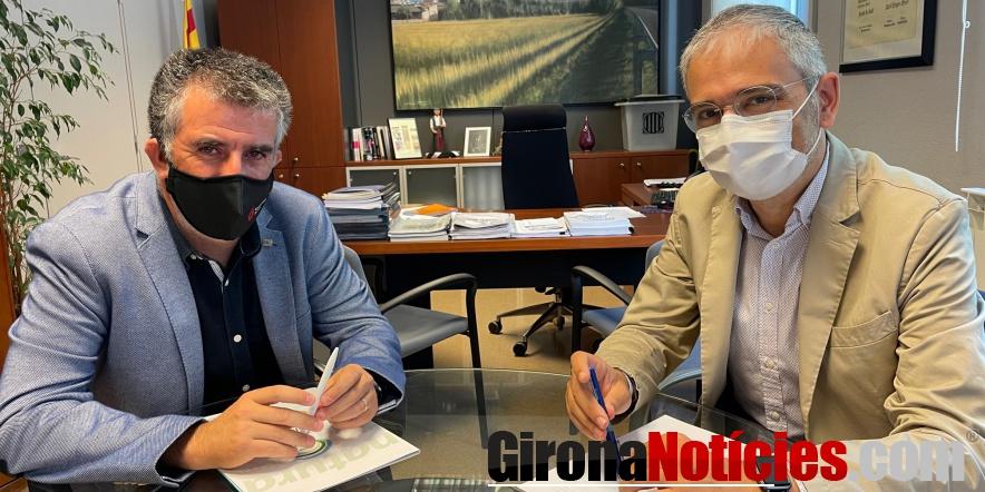 Reunió Jordi Viñas Jordi Martinoy