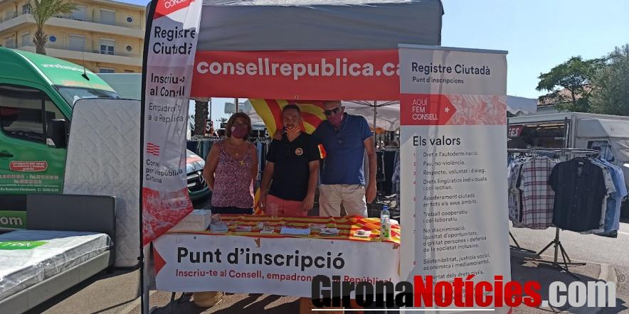 Consell per la República al mercat de Sant Cebrià / GN