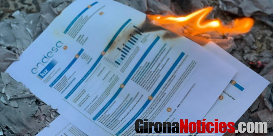Protesta contra els preus abusius de la llum / Gn