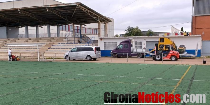 Nova Gespa Articial camp de futbol El Pla de Salt