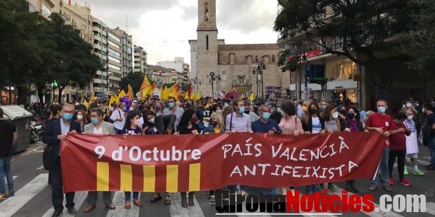 Manifestació 9 d'octubre